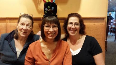 Donna, Micele and Cheryl